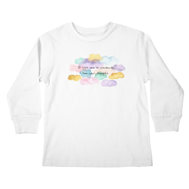 Skybanyes Kids Longsleeve T-Shirt by Misterdressup
