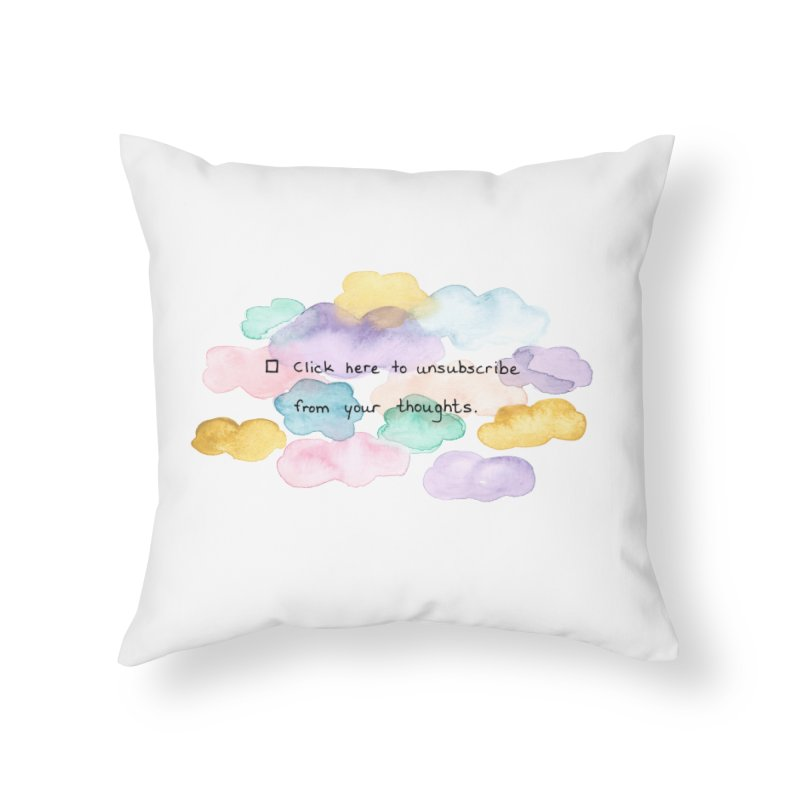 Skybanyes Home Throw Pillow by Misterdressup