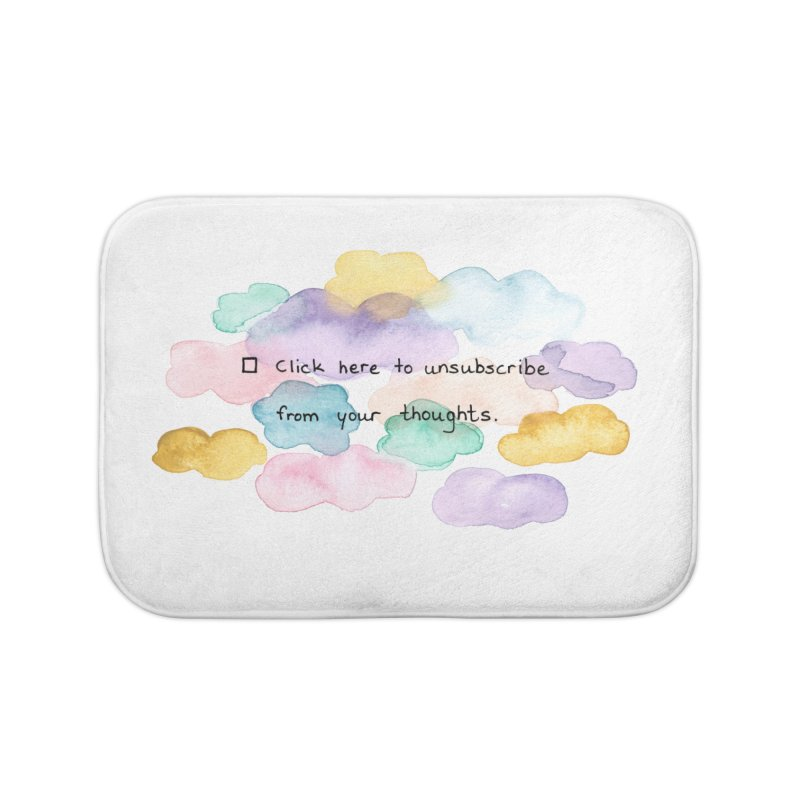Skybanyes Home Bath Mat by Misterdressup