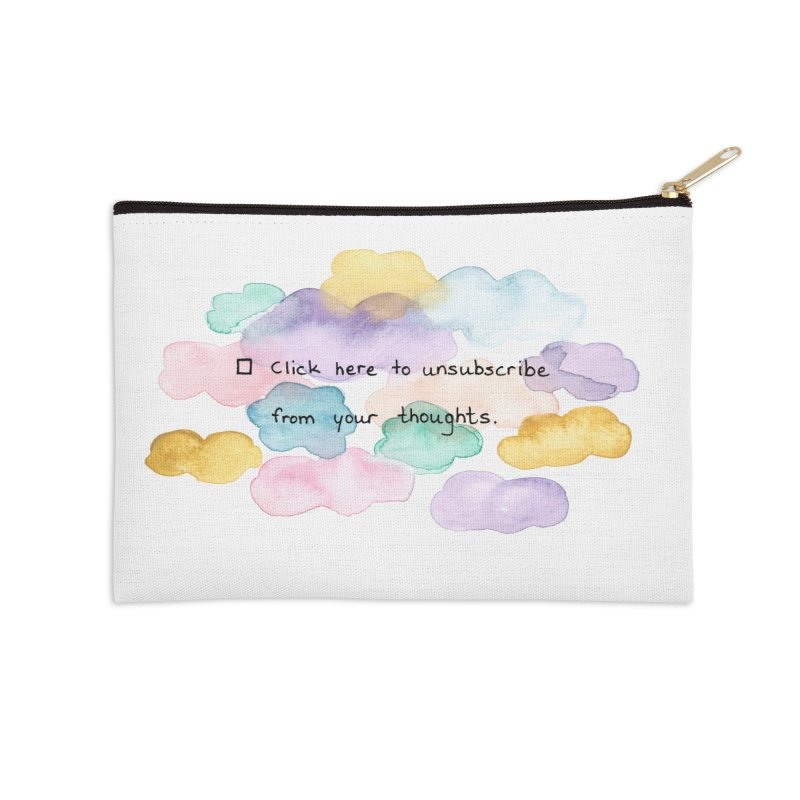 Skybanyes Accessories Zip Pouch by Misterdressup