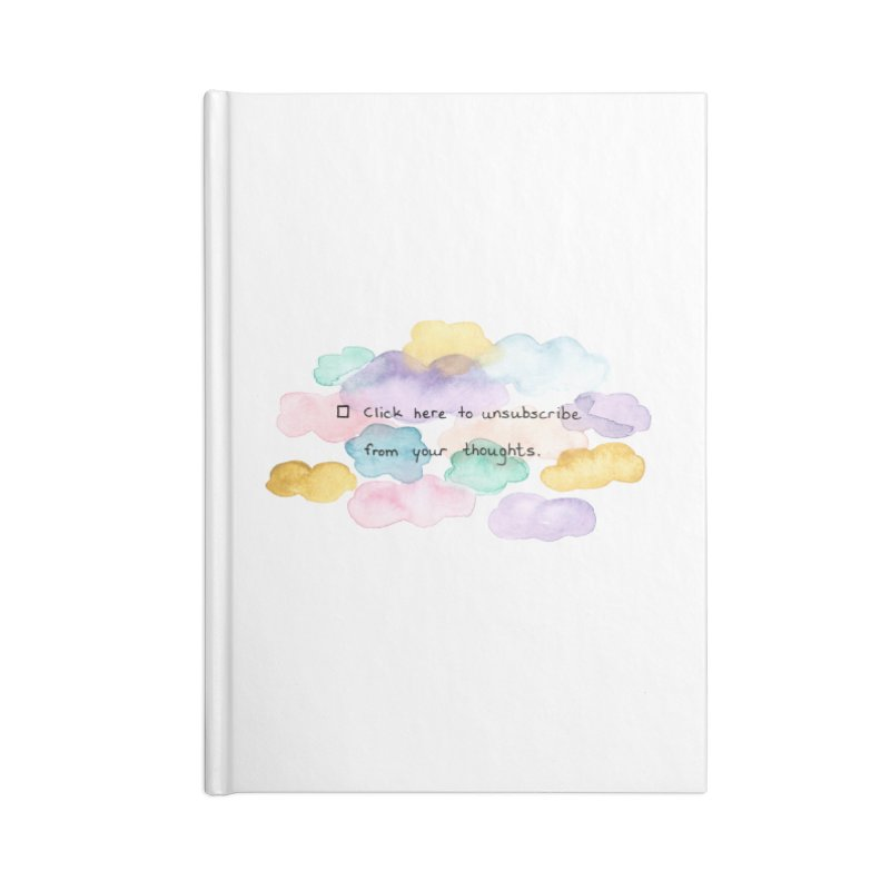 Skybanyes Accessories Notebook by Misterdressup