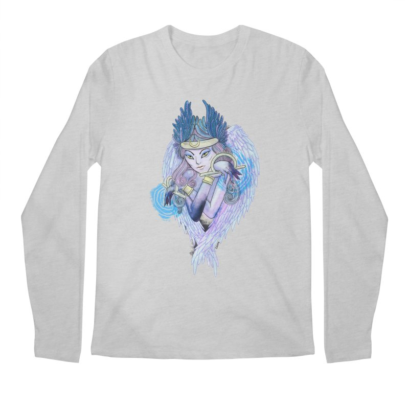 Stephanie Cavina Men's Regular Longsleeve T-Shirt by Misterdressup