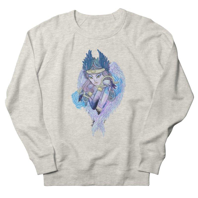 Stephanie Cavina Women's French Terry Sweatshirt by Misterdressup