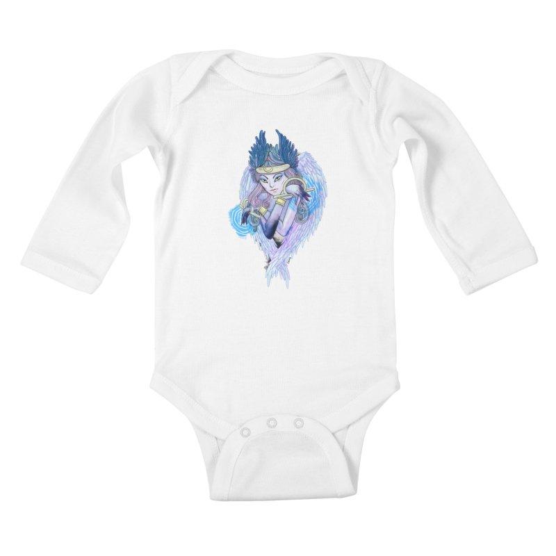 Stephanie Cavina Kids Baby Longsleeve Bodysuit by Misterdressup