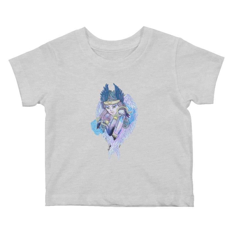 Stephanie Cavina Kids Baby T-Shirt by Misterdressup