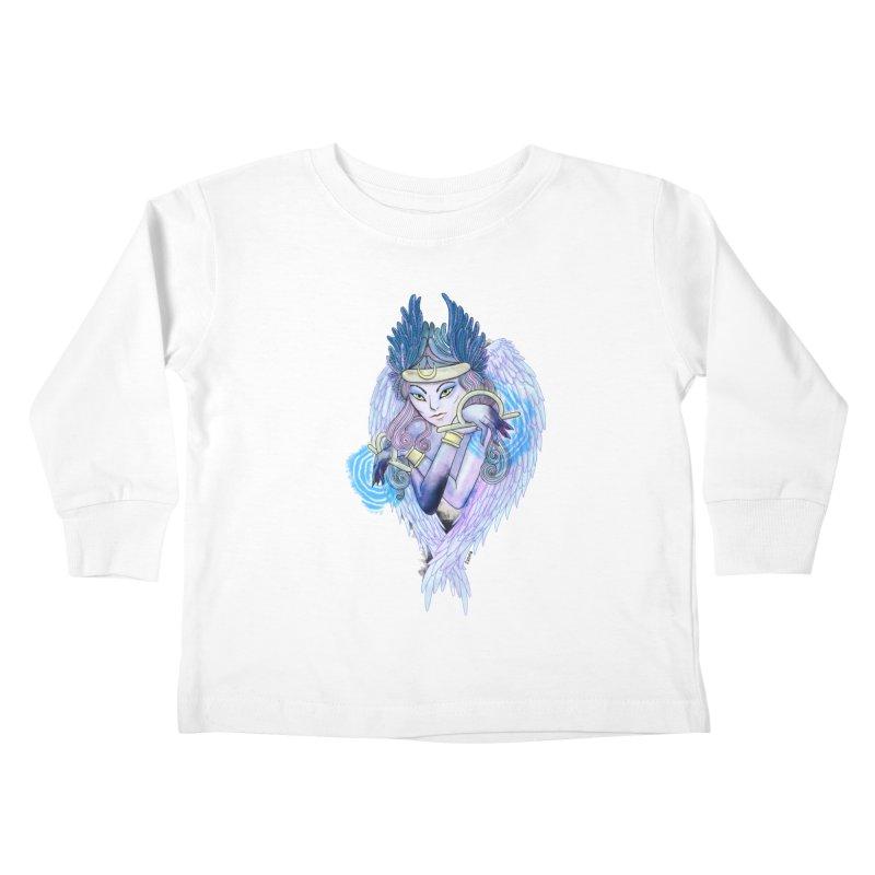 Stephanie Cavina Kids Toddler Longsleeve T-Shirt by Misterdressup