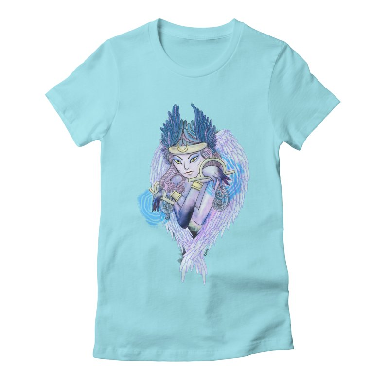 Stephanie Cavina Women's Fitted T-Shirt by Misterdressup