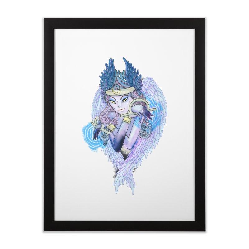 Stephanie Cavina Home Framed Fine Art Print by Misterdressup