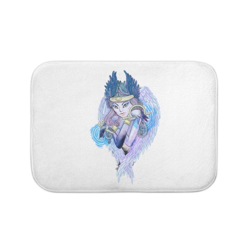 Stephanie Cavina Home Bath Mat by Misterdressup