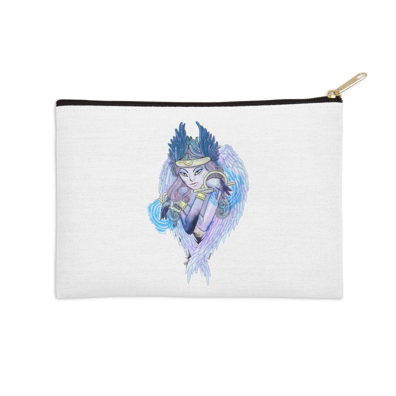 Stephanie Cavina Accessories Zip Pouch by Misterdressup