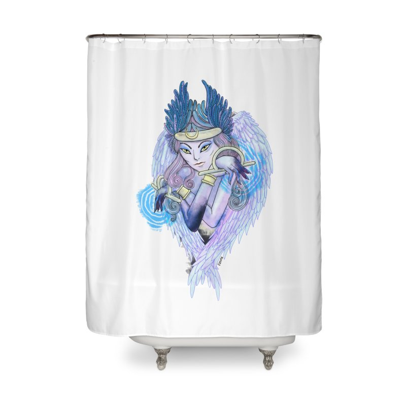 Stephanie Cavina Home Shower Curtain by Misterdressup