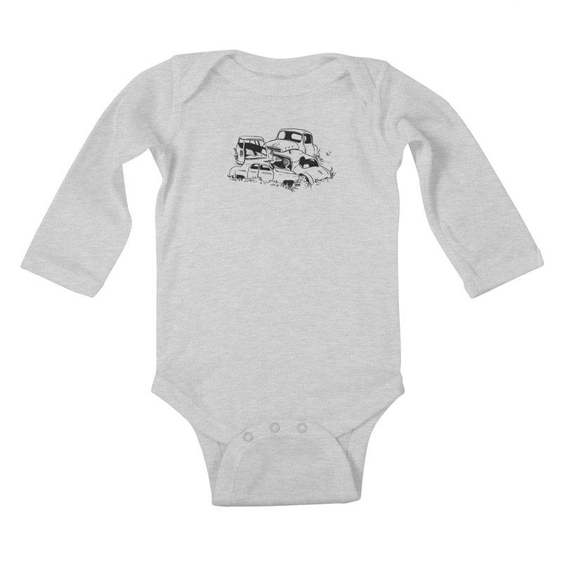 Steven Labute Kids Baby Longsleeve Bodysuit by Misterdressup