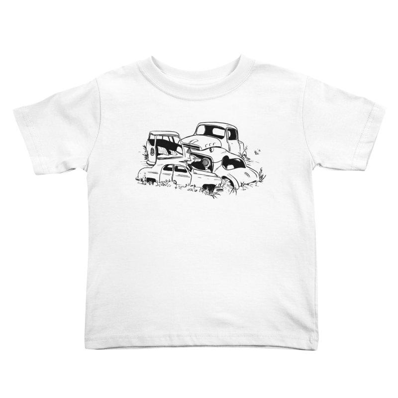 Steven Labute Kids Toddler T-Shirt by Misterdressup