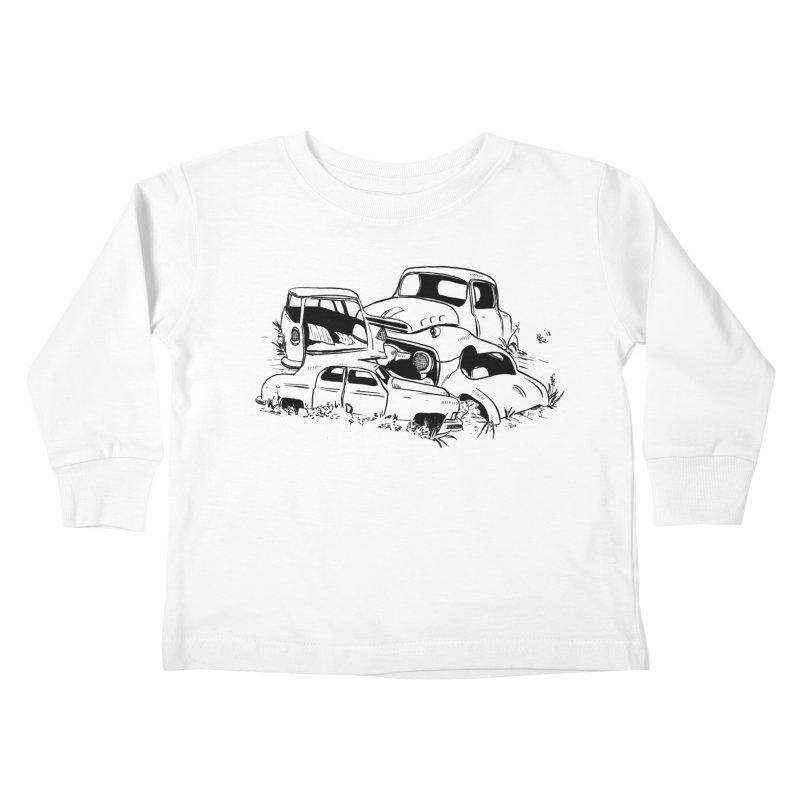 Steven Labute Kids Toddler Longsleeve T-Shirt by Misterdressup