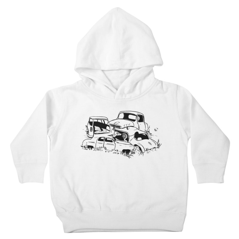 Steven Labute Kids Toddler Pullover Hoody by Misterdressup