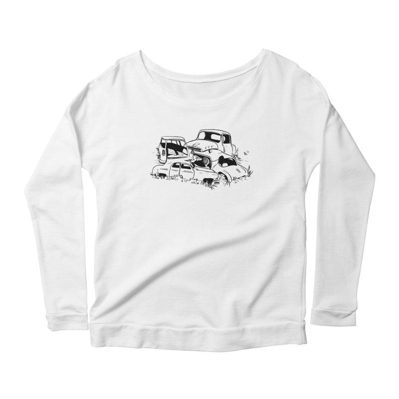 Steven Labute Women's Scoop Neck Longsleeve T-Shirt by Misterdressup