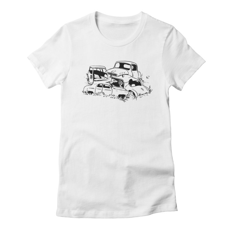 Steven Labute Women's Fitted T-Shirt by Misterdressup