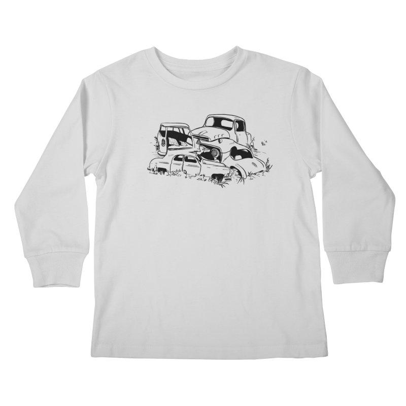 Steven Labute Kids Longsleeve T-Shirt by Misterdressup