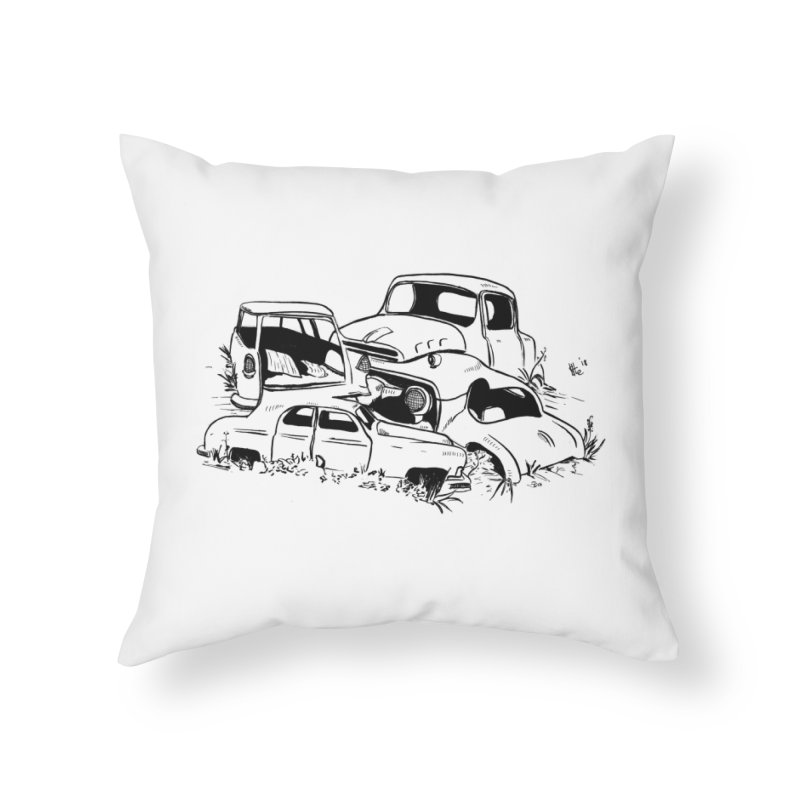 Steven Labute Home Throw Pillow by Misterdressup