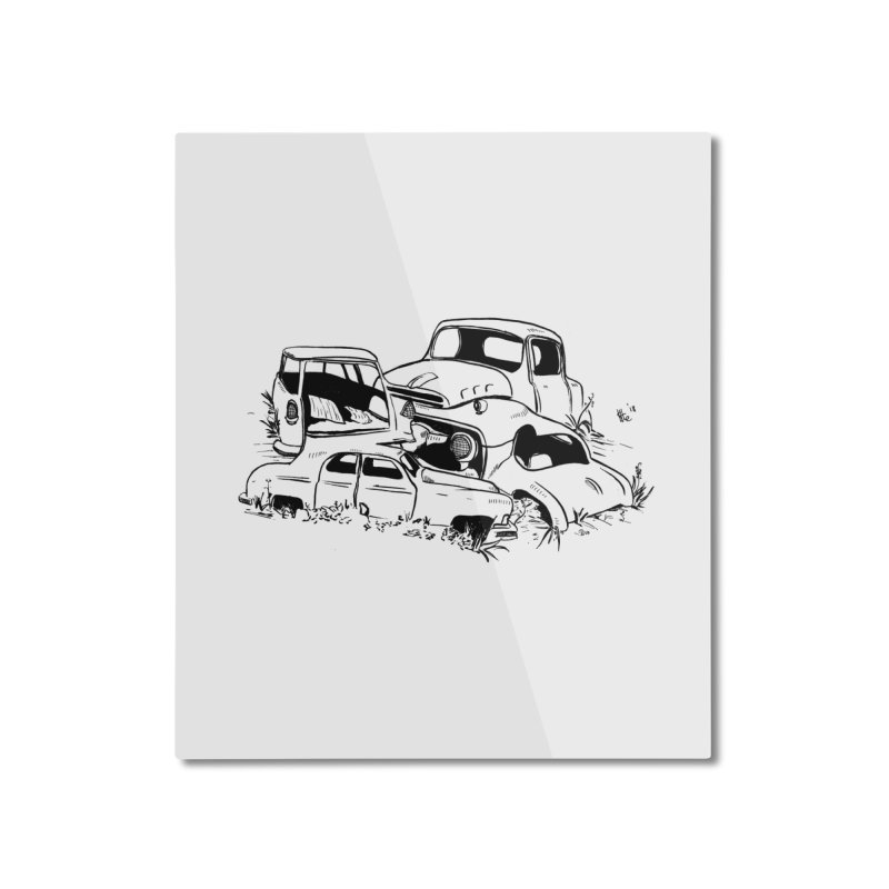 Steven Labute Home Mounted Aluminum Print by Misterdressup