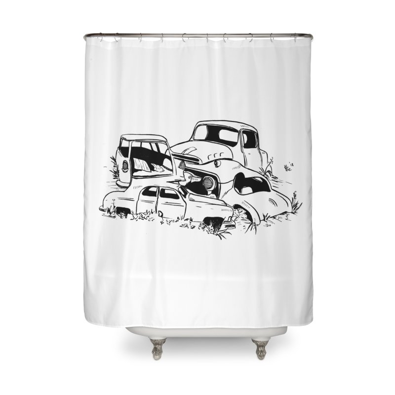 Steven Labute Home Shower Curtain by Misterdressup