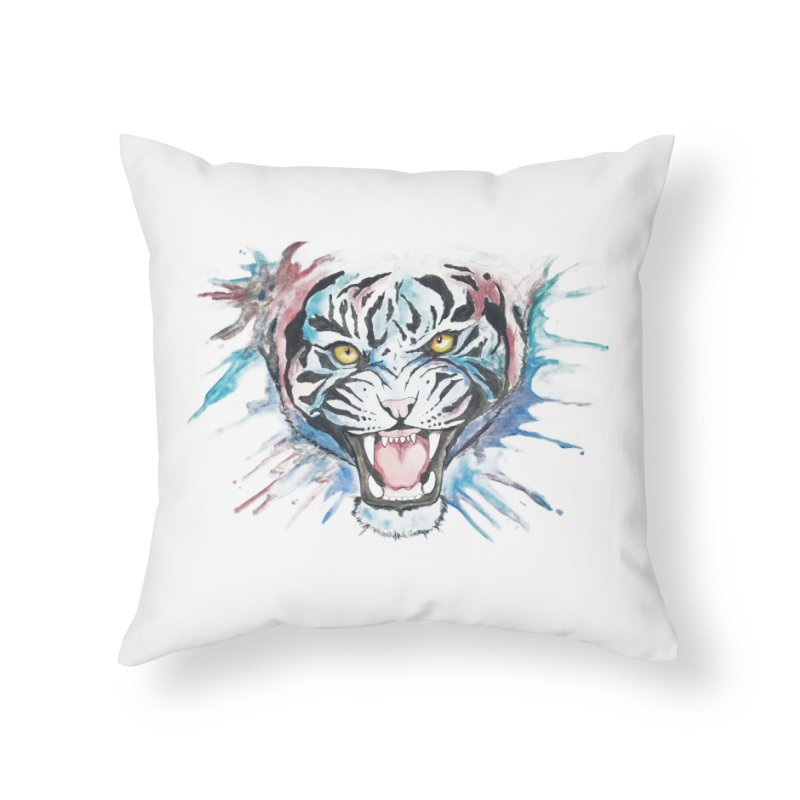 Bea Home Throw Pillow by Misterdressup