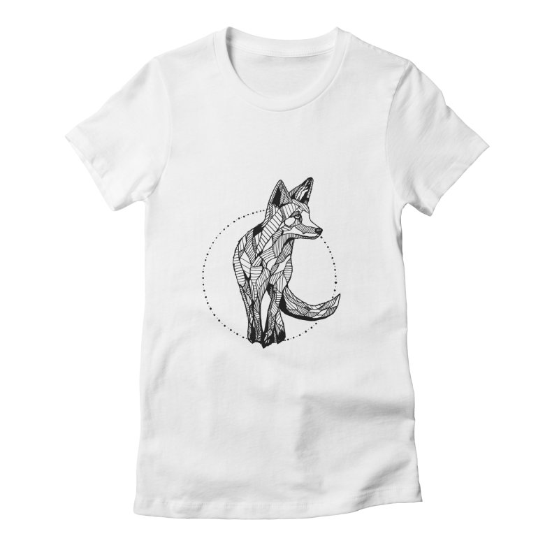 Ivy Sánchez Women's Fitted T-Shirt by Misterdressup