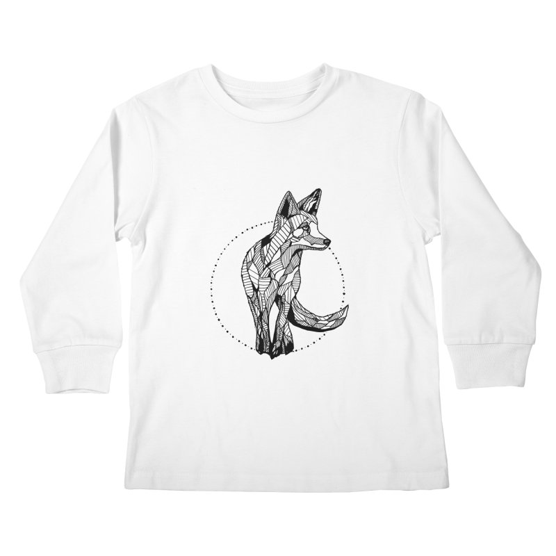 Ivy Sánchez Kids Longsleeve T-Shirt by Misterdressup