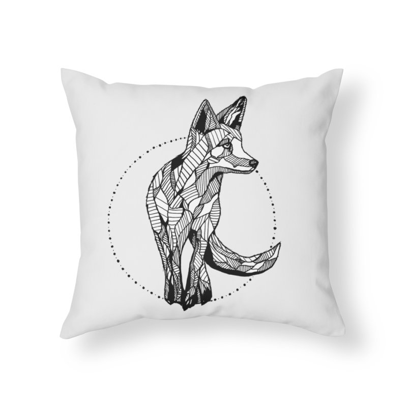 Ivy Sánchez Home Throw Pillow by Misterdressup
