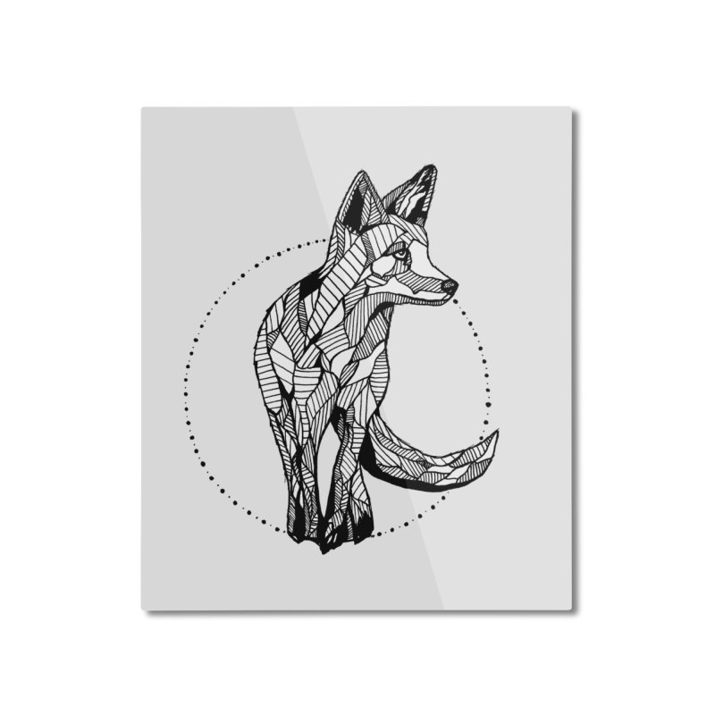 Ivy Sánchez Home Mounted Aluminum Print by Misterdressup