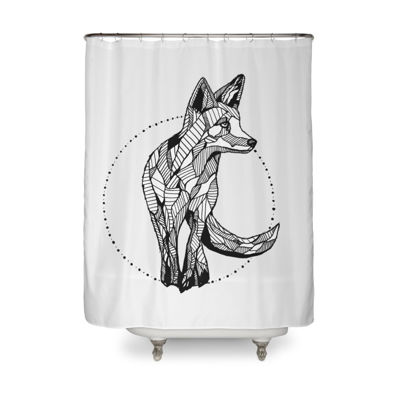 Ivy Sánchez Home Shower Curtain by Misterdressup