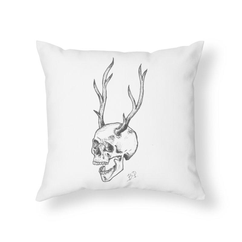 Péter Bihari Home Throw Pillow by Misterdressup