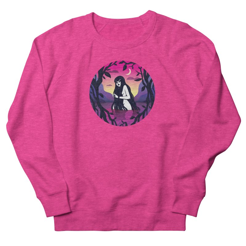 Quentin Celeste Women's French Terry Sweatshirt by Misterdressup
