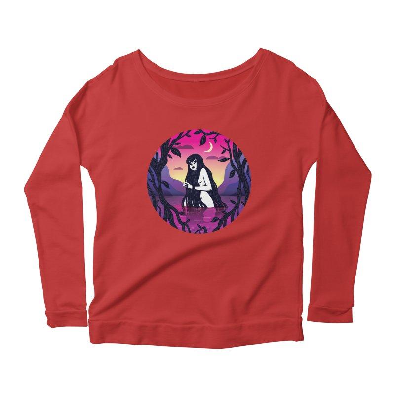 Quentin Celeste Women's Scoop Neck Longsleeve T-Shirt by Misterdressup