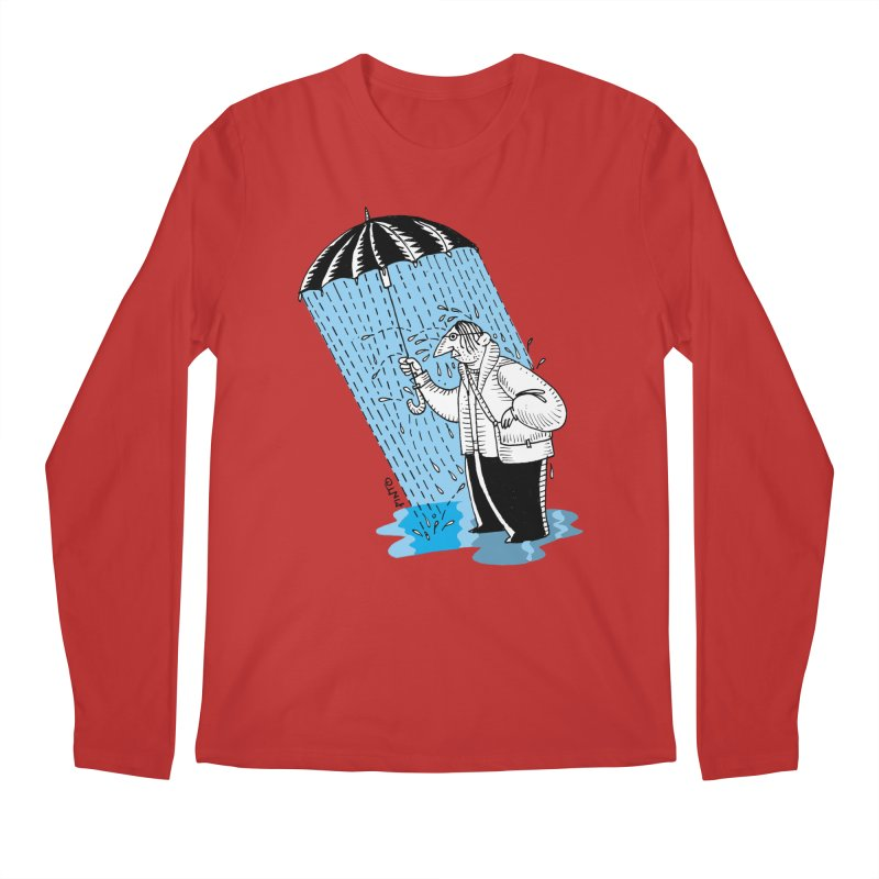 Carlos Pinto Men's Regular Longsleeve T-Shirt by Misterdressup