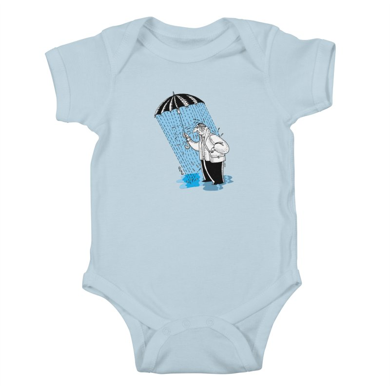 Carlos Pinto Kids Baby Bodysuit by Misterdressup