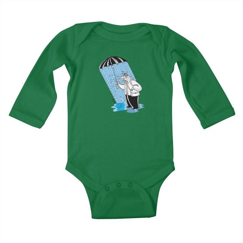 Carlos Pinto Kids Baby Longsleeve Bodysuit by Misterdressup