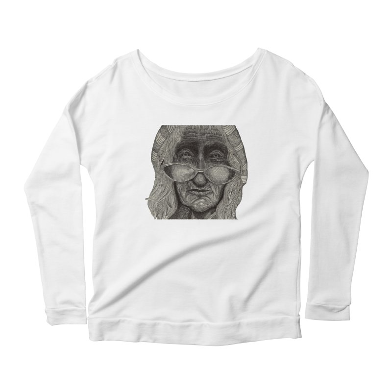 Jasper Verspaandonk Women's Scoop Neck Longsleeve T-Shirt by Misterdressup