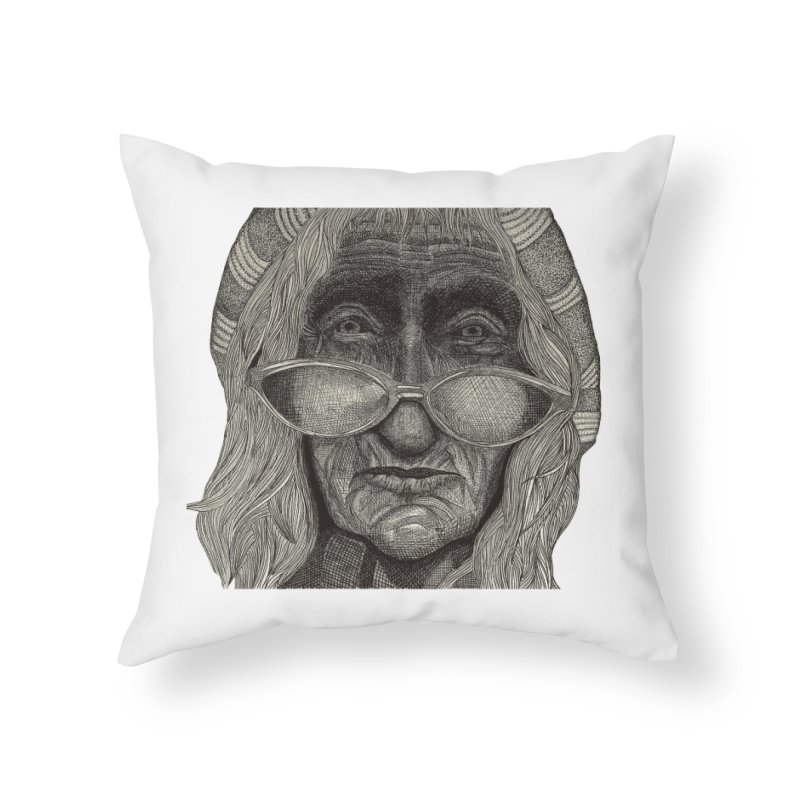 Jasper Verspaandonk Home Throw Pillow by Misterdressup
