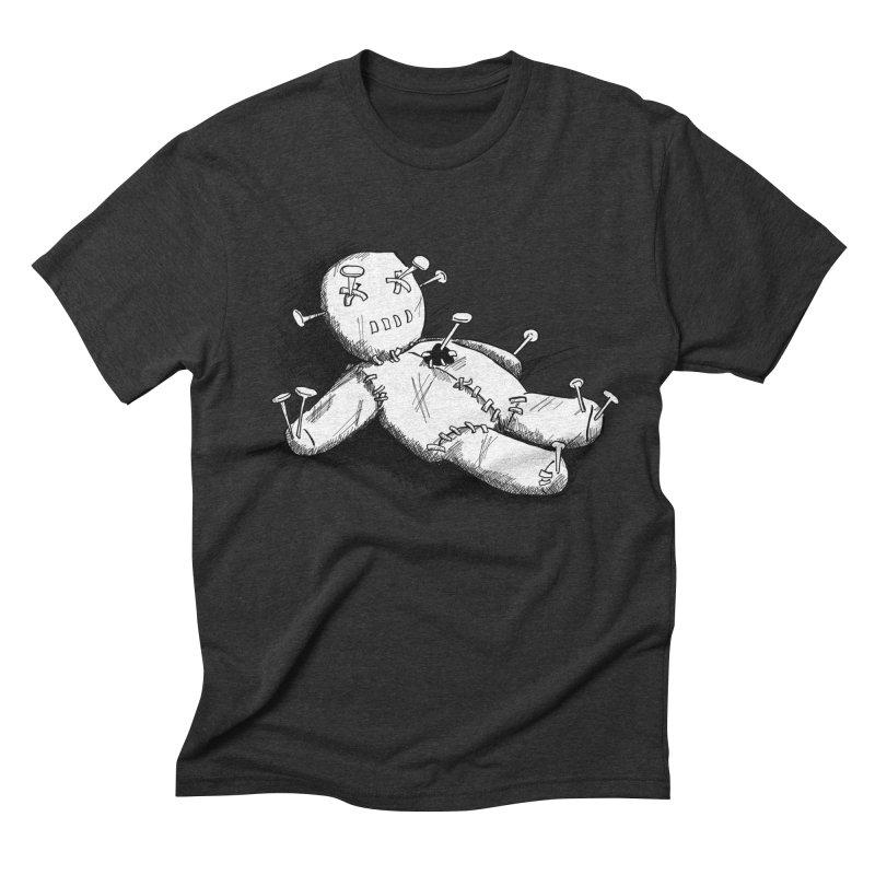 Keyla Rainbow Men's Triblend T-Shirt by Misterdressup