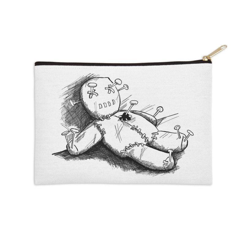 Keyla Rainbow Accessories Zip Pouch by Misterdressup