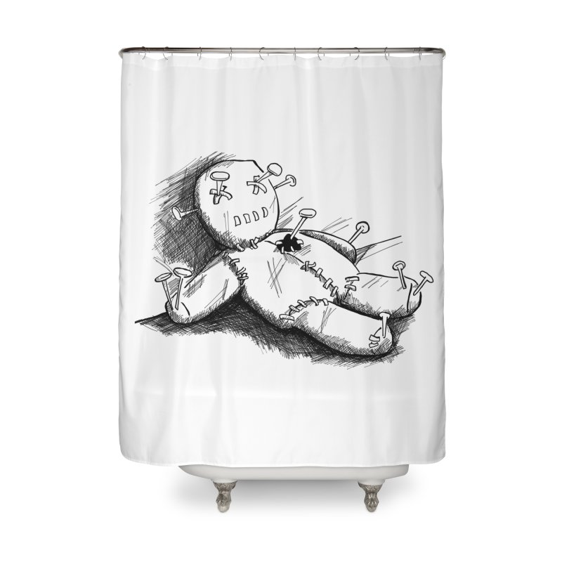 Keyla Rainbow Home Shower Curtain by Misterdressup