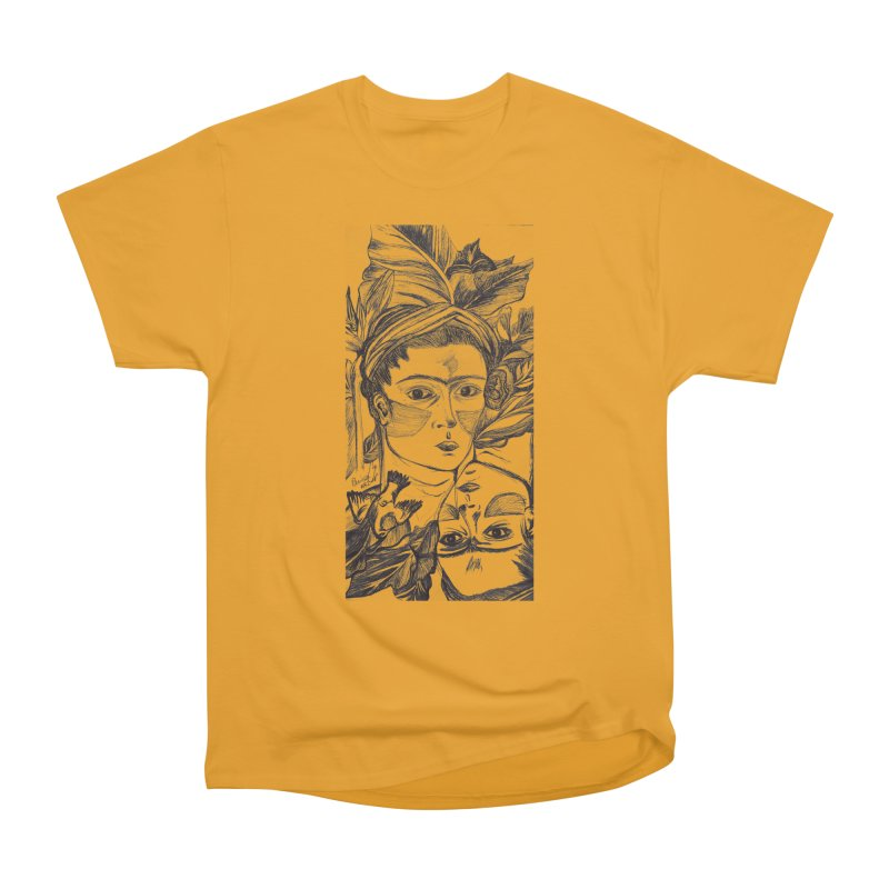 Parisa Talezadeh Women's Heavyweight Unisex T-Shirt by Misterdressup