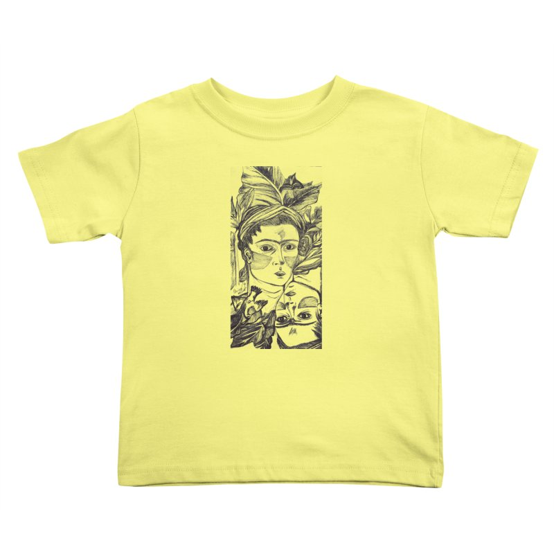 Parisa Talezadeh Kids Toddler T-Shirt by Misterdressup