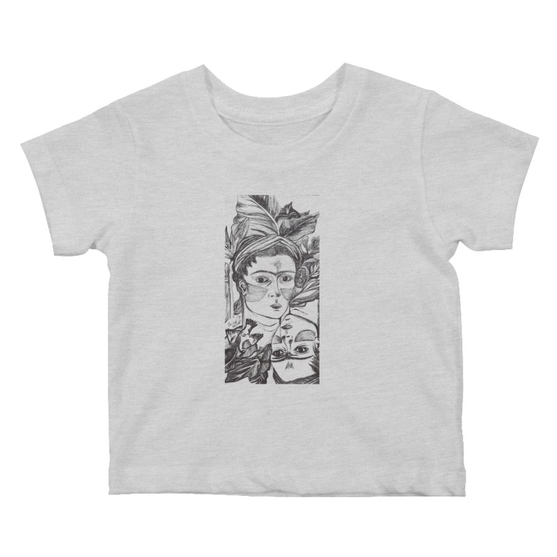 Parisa Talezadeh Kids Baby T-Shirt by Misterdressup