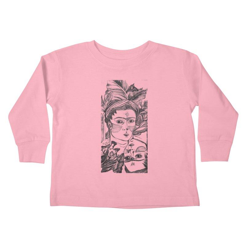 Parisa Talezadeh Kids Toddler Longsleeve T-Shirt by Misterdressup
