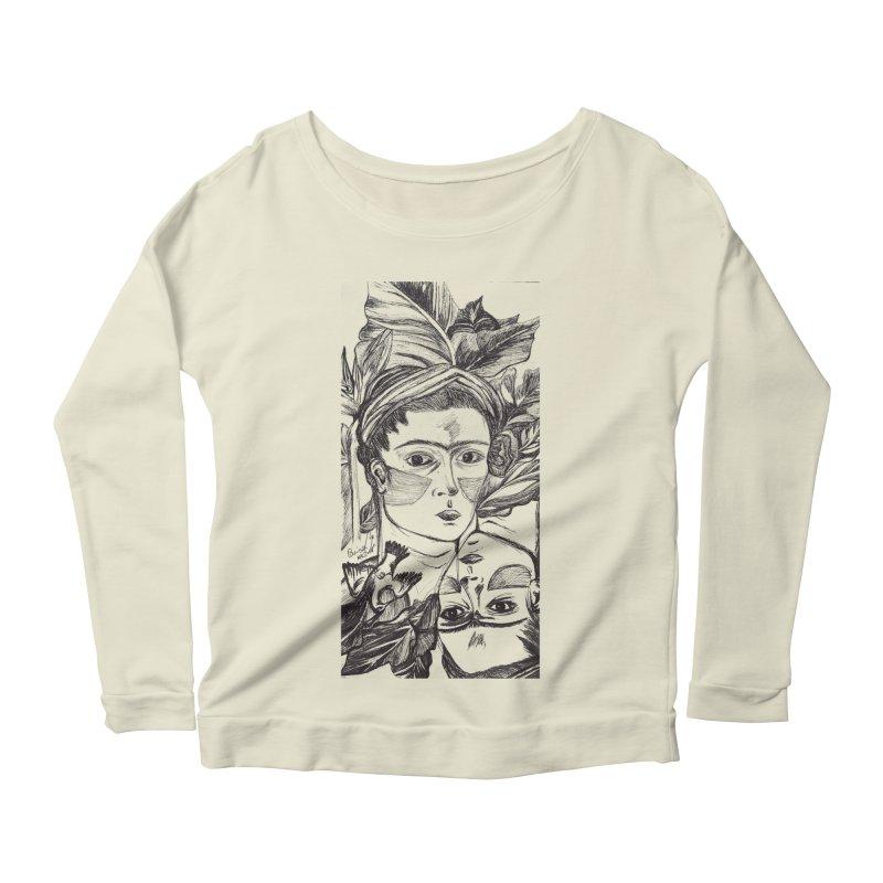 Parisa Talezadeh Women's Scoop Neck Longsleeve T-Shirt by Misterdressup