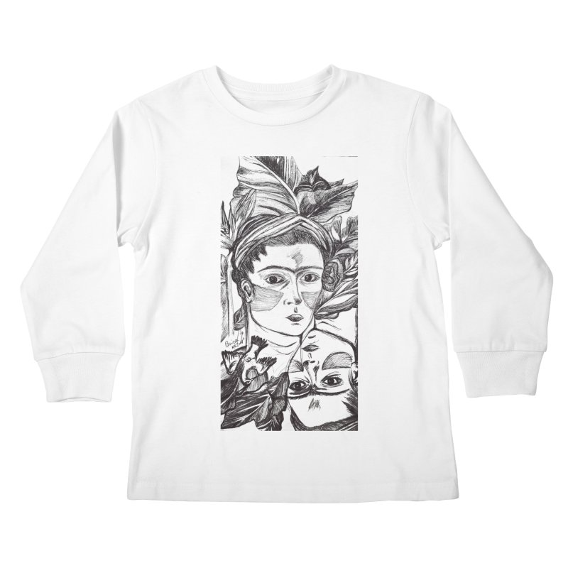 Parisa Talezadeh Kids Longsleeve T-Shirt by Misterdressup