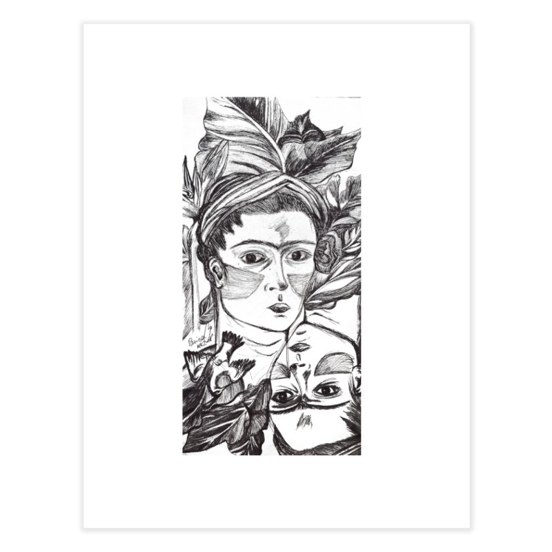 Parisa Talezadeh Home Fine Art Print by Misterdressup