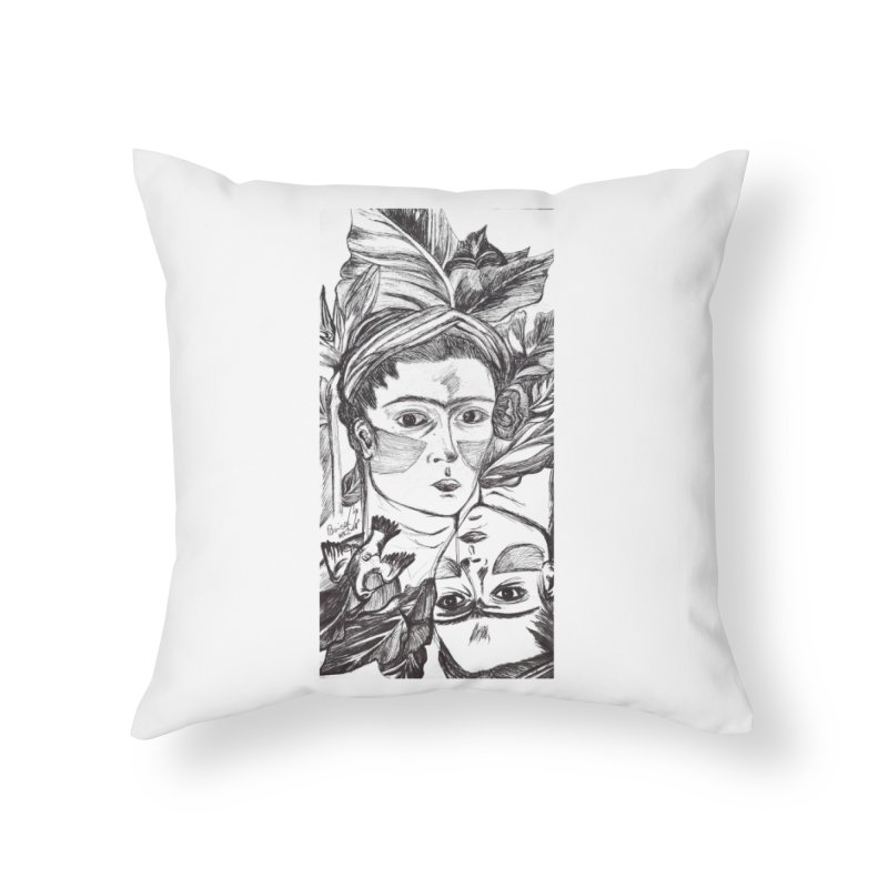 Parisa Talezadeh Home Throw Pillow by Misterdressup